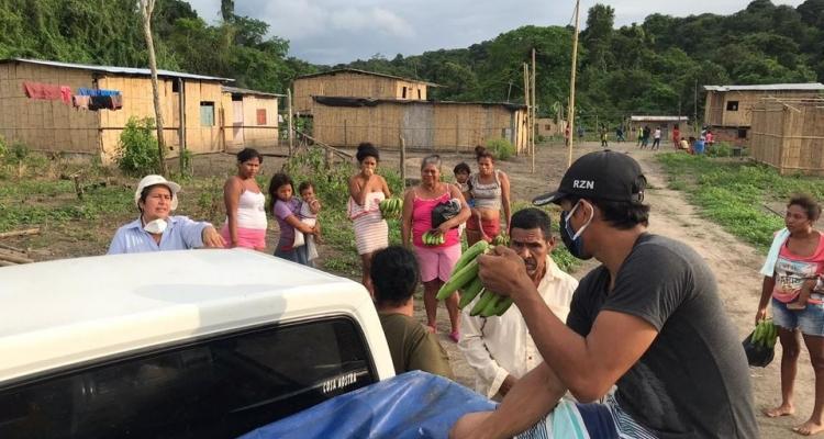 ENTREGA DE RACIONES, LEGUMBRES AL RECINTO DE TABULE.